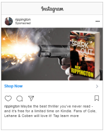 gangster crime fiction thriller Spark Out 3